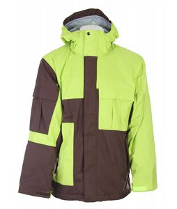 Bonfire Radiant Snowboard Jacket Bark/Citron