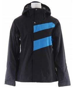 Bonfire Radiant Snowboard Jacket Black/Crystal