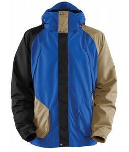 Bonfire Radiant Snowboard Jacket Black/True Blue/Canvas