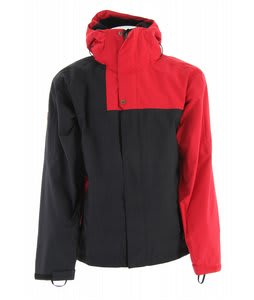 Bonfire Radiant Snowboard Jacket Fire/Black