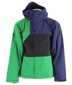 Bonfire Radiant Snowboard Jacket Marine/Pine/Black