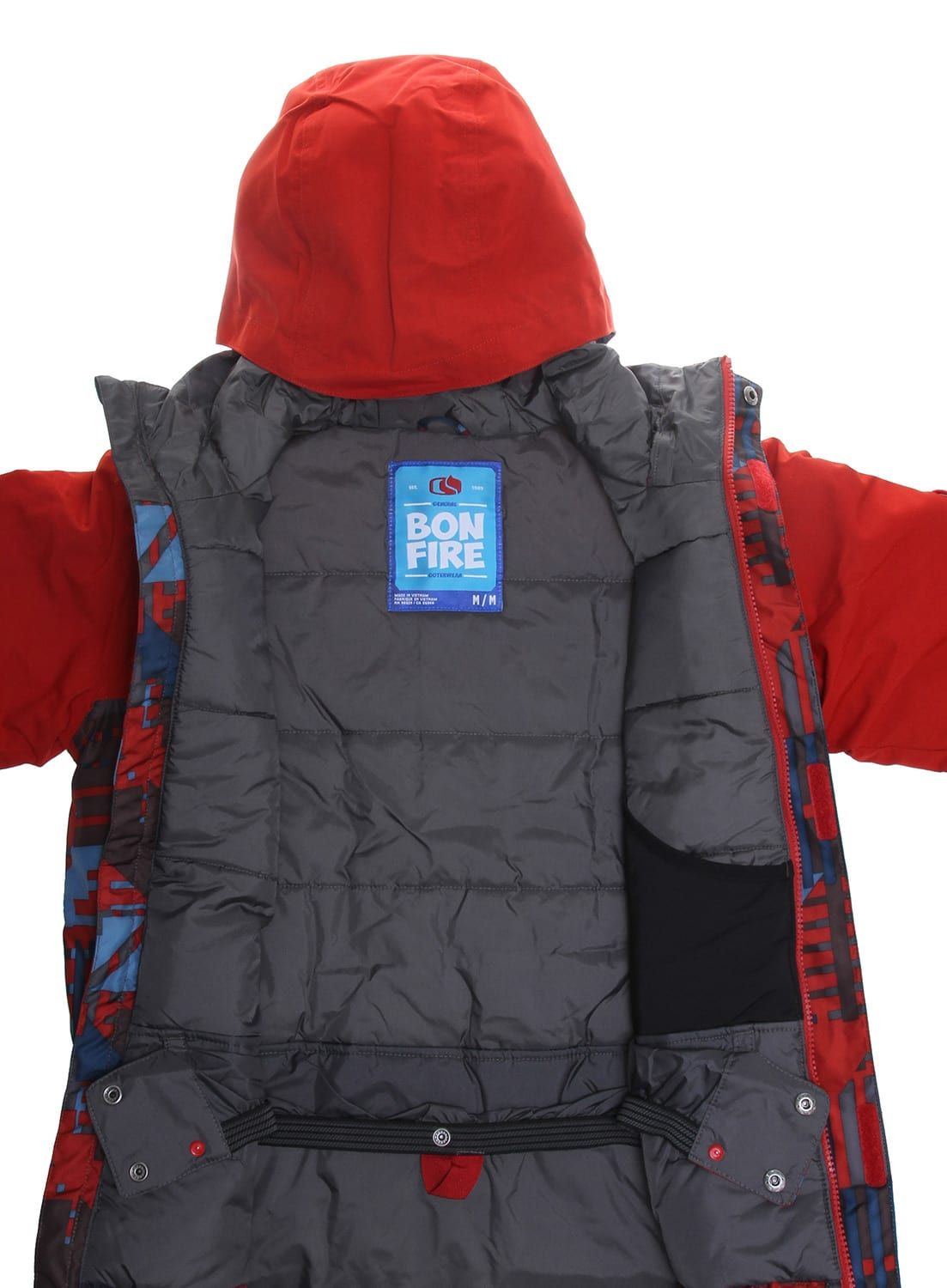 Bonfire Ranger Snowboard Jacket Kids Youth