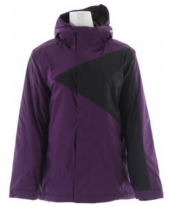 Bonfire Riley Snowboard Jacket Garnet/Black