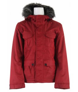 Bonfire Safari Snowboard Jacket Crimson