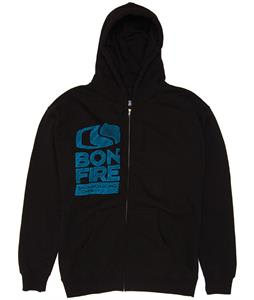 Bonfire Sketch Hoodie Black