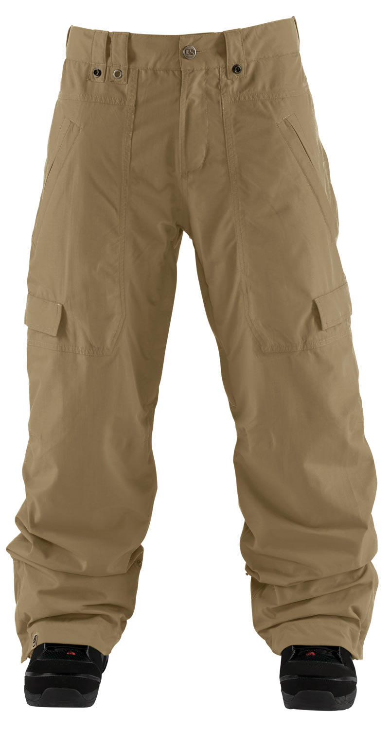 Shop for Bonfire Spectral Snowboard Pants Canvas - Men's