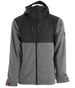 Bonfire Steep Fleece Jacket Black/Iron