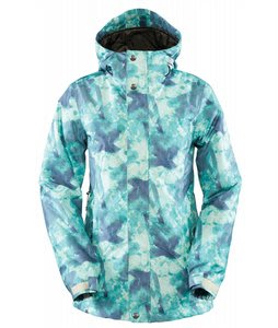 Bonfire Tabor Snowboard Jacket Storm Beacon Print