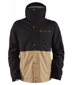 Bonfire Tanner Snowboard Jacket Black/Canvas