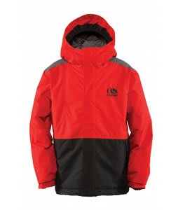 Bonfire Team Snowboard Jacket Burnt/Black/Iron