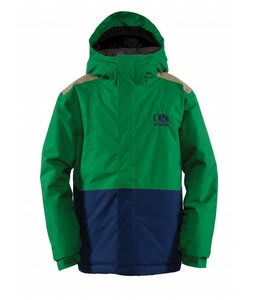 Bonfire Team Snowboard Jacket Spruce/Marine/Canvas