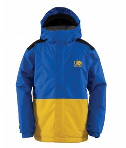 Bonfire Team Snowboard Jacket True Blue/Golden/Black