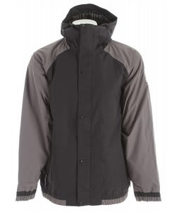 Bonfire Timberline Snowboard Jacket Black/Iron
