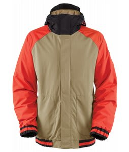 Bonfire Timberline Snowboard Jacket Canvas/Black/Burnt