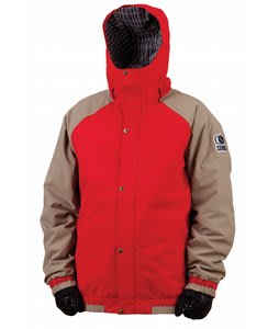 Bonfire Timberline Snowboard Jacket Fire
