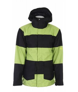 Bonfire Titan Snowboard Jacket Citron