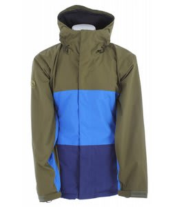 Bonfire Volt Snowboard Jacket Herbe/Bluebird/Marine