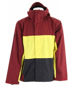 Bonfire Volt Snowboard Jacket Mahogany/Lemon/Black