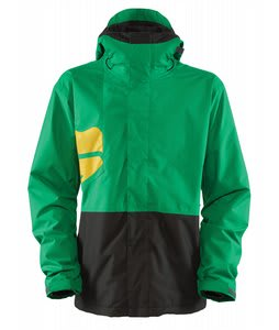 Bonfire Volt Snowboard Jacket Spruce/Black/Golden
