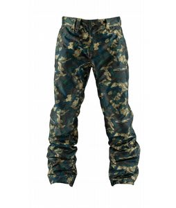 Bonfire Volt LTD Snowboard Pants Canvas Multnomah Falls Print