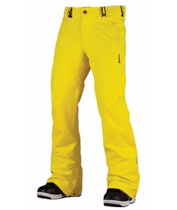 Bonfire Volt Snowboard Pants Lemon