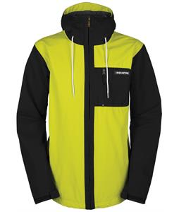Bonfire Wallace Snowboard Jacket Black/Hazard