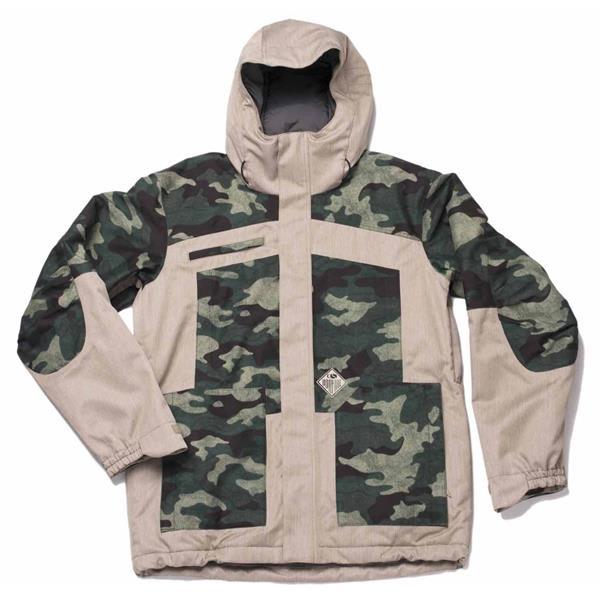 Bonfire Weber Print Snowboard Jacket