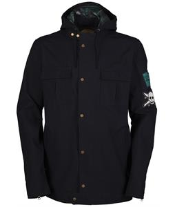 Bonfire X Fourstar Snowboard Jacket Black