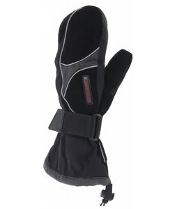 Booster Arrowhead Mittens Black