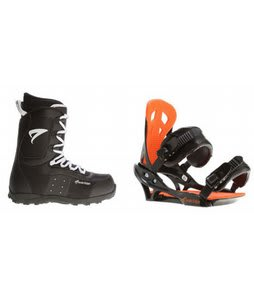 Arctic Edge Snowboard Boots w/ Arctic Edge Team Bindings Black