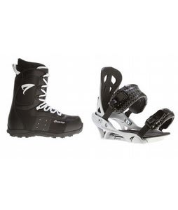 Arctic Edge Snowboard Boots w/ Arctic Edge Team Bindings Silver