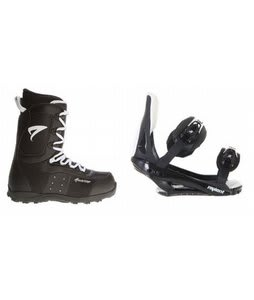 Arctic Edge Snowboard Boots w/ Sapient Slopestyle Bindings Black