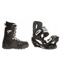 Arctic Edge Snowboard Boots w/ Sapient Stash Bindings Black