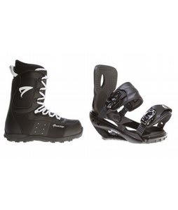 Arctic Edge Snowboard Boots w/ Sapient Wisdom Bindings Black