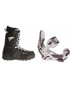 Arctic Edge Snowboard Boots w/ Technine Mfm Pro Bindings Sand