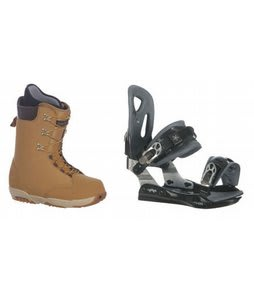 Burton Boxer Snowboard Boots w/ Lamar MX25 Bindings