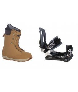 Burton Boxer Snowboard Boots w/ Lamar MX30 Bindings Black