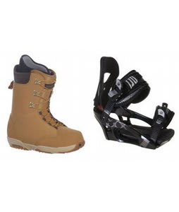 Burton Boxer Snowboard Boots w/ LTD LT250 Bindings Black
