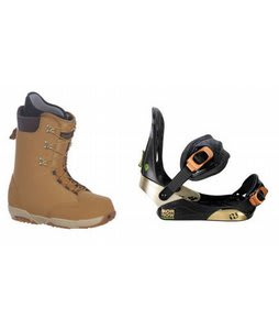 Burton Boxer Snowboard Boots w/ Morrow Invasion Bindings Black