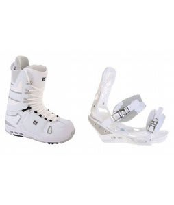 Burton Hail Snowboard Boots w/ Burton Triad Bindings White