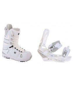 Burton Hail Snowboard Boots w/ Burton Triad Bindings White