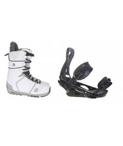 Burton Hail Snowboard Boots w/ Burton P1.1 Bindings Blac