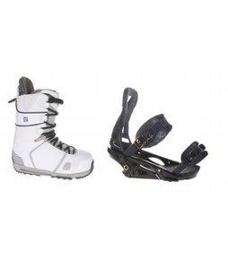 Burton Hail Snowboard Boots w/ Burton P1.1 Bindings Blac