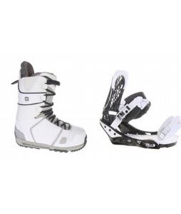 Burton Hail Snowboard Boots w/ Burton Triad Bindings Black