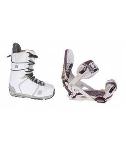 Burton Hail Snowboard Boots w/ Technine Mfm Pro Bindings Sand