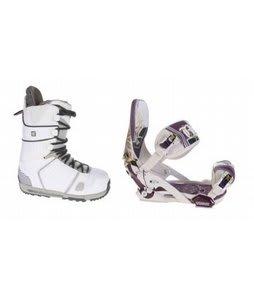 Burton Hail Snowboard Boots w/ Technine Mfm Pro Bindings Sand