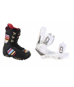 Burton Sabbath Snowboard Boots w/ Burton C60 Bindings White