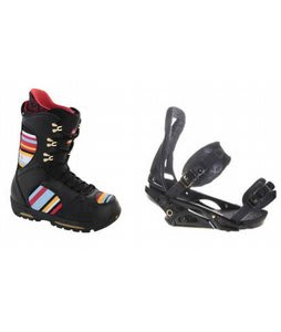 Burton Sabbath Snowboard Boots w/ Burton P1.1 Bindings Blac