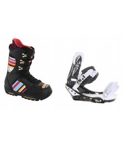 Burton Sabbath Snowboard Boots w/ Burton Triad Bindings Black