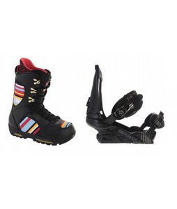 Burton Sabbath Snowboard Boots w/ Forum Republic Bindings Dark